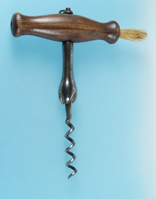 English Easer with Brush and Triangular Section Worm