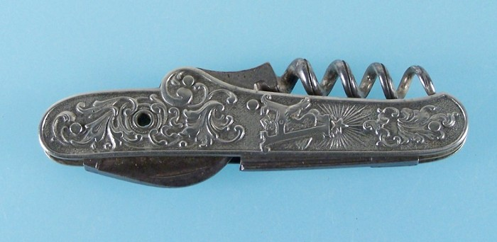 Anheuser-Busch 1904 St. Louis Knife – missing stanhope