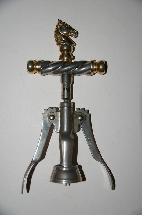 Ellis Collection - Horse head double lever corkscrew