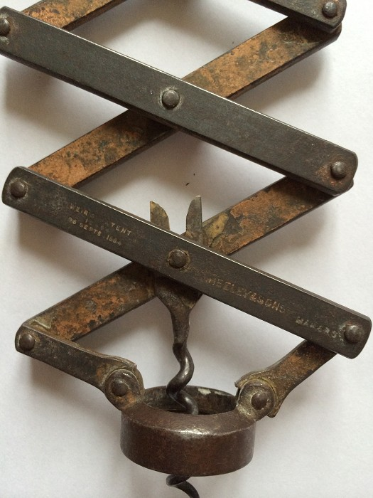 Weir's Patent Corkscrew