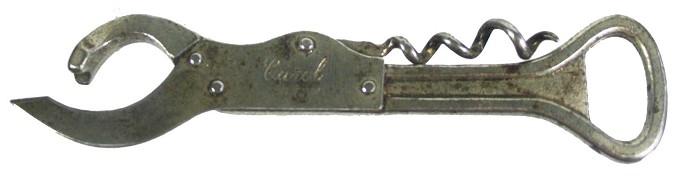 German registered combination, marked CAROL DRGM