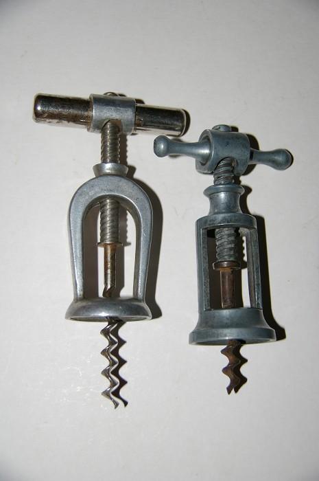 Ellis Collection - 2 Aluminium Challenge type corkscrews