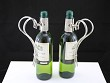 Two bottleholders silverplated Italy
