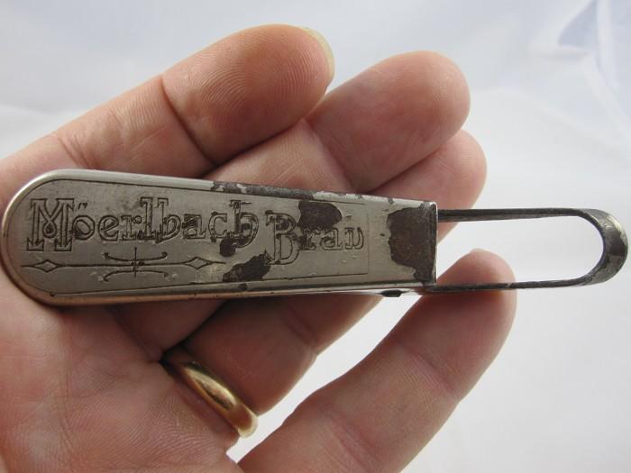 Rydquist 1909 U.S.pat. caplifter handle,cs,stopper-advtg