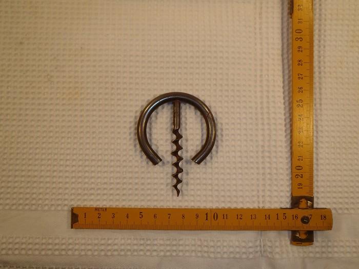 Volkmar simplest self puller corkscrew DRGM