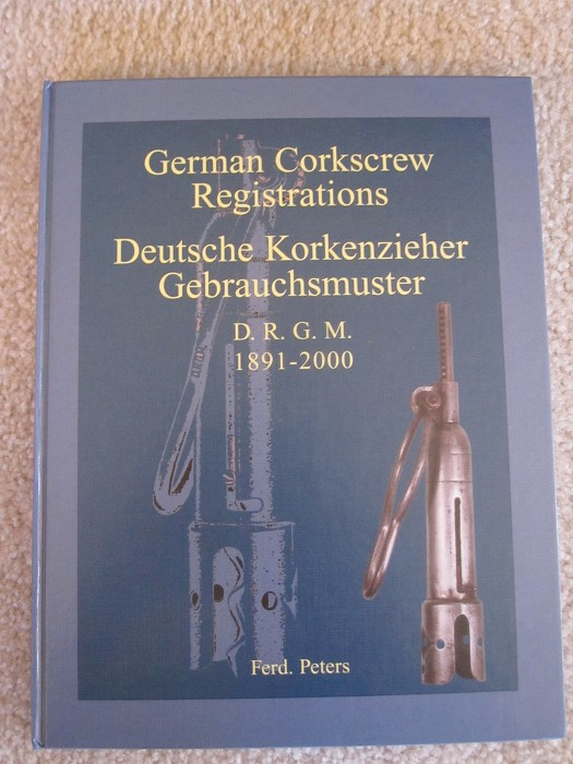 F.Peters German Corkscrew Pats, Registrations, 2 volumes