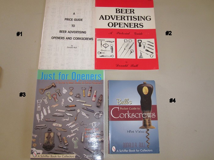 Don Bull--4 different Corkscrew Collectible Books