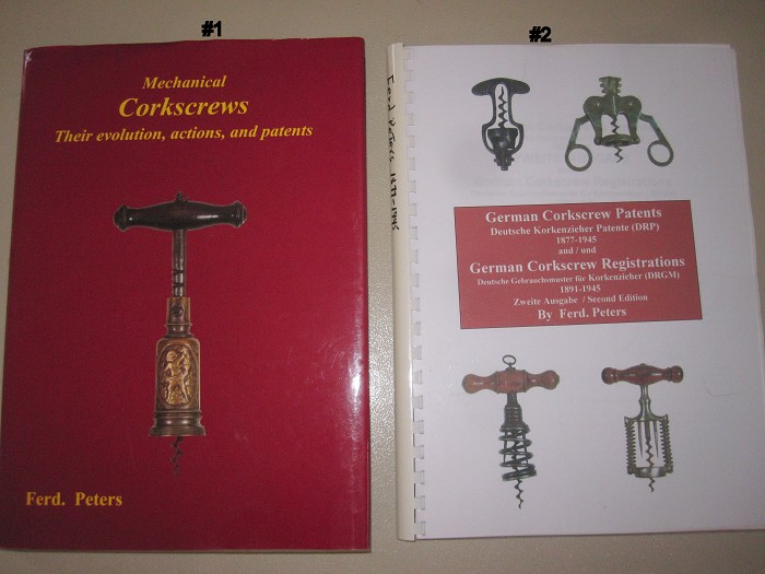 Ferd Peters--2 different Corkscrew Collectible Books