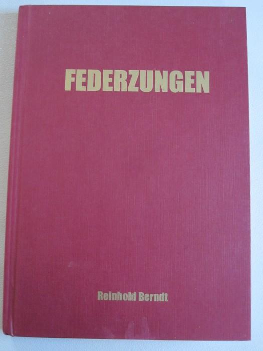 "R.Berndt ""FEDERZUNGEN"" (Cork pullers) 153 pg."