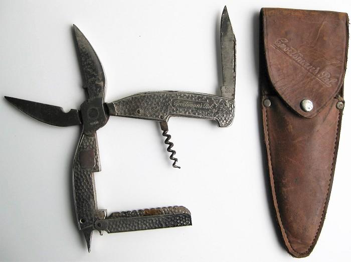 GERMAN MULTI TOOLS CORKSCREW IN HIS POCKET SPORTSMAN'S PAL