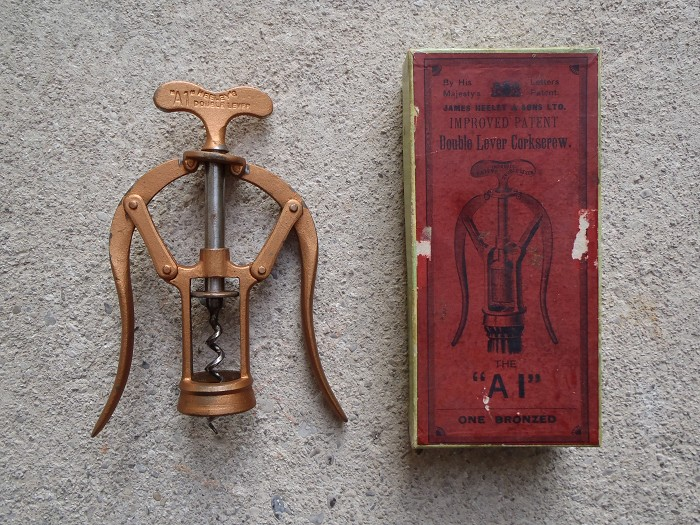 English A1 Heeley`s Double Lever improved Patent in Box !