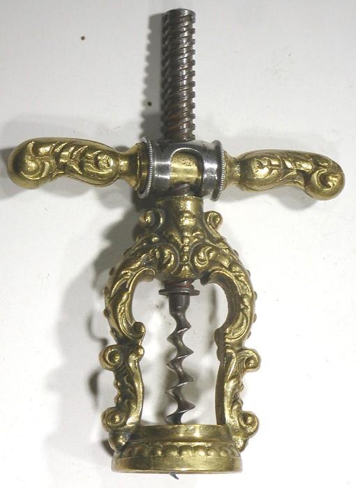 German Reissmann Patent - Swivel Collar Corkscrew