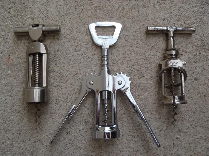 3 Monopol corkscrews - 117 DRGM - Reissmann - double lever