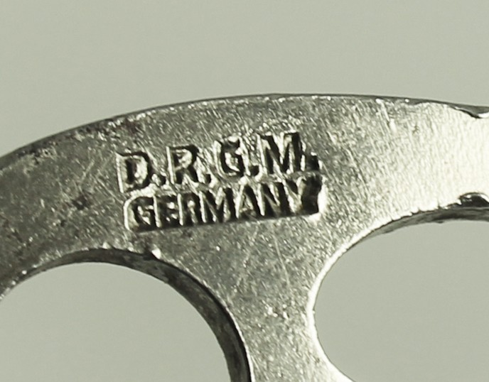 Reich's German 1930 Reg Des marked DRGM GERMANY