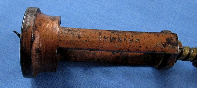 Antique Sunderland's 6064 Patent Corkscrew - The King