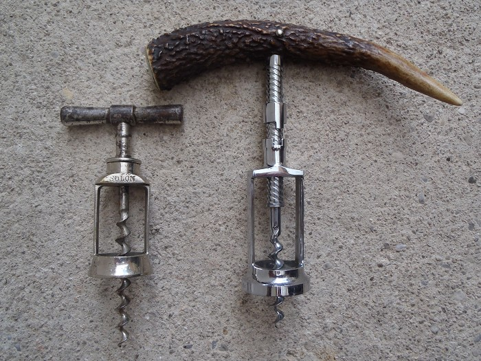 SOLON marked DRGM & Fischer late variation corkscrew !!!