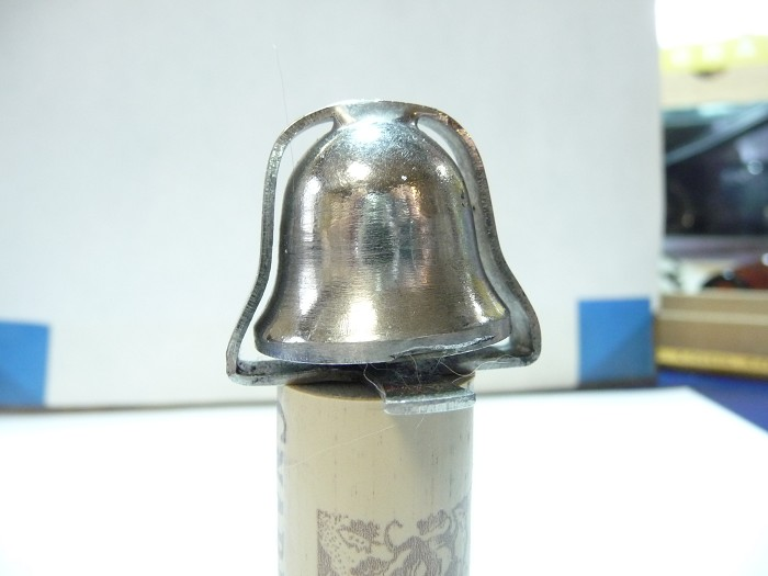 POISON BOTTLE BELL AND CORKSCREW VERY RARE NEAR MINT CONDITI