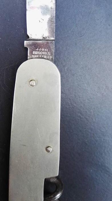 1924 British Registered Design Corkscrew Knife -John Brooke