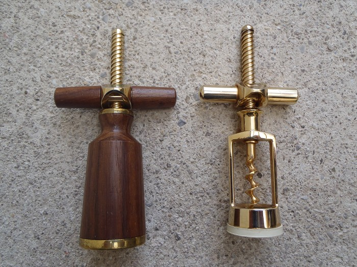 2 late german corkscrews by Monopol - Reissmann variations