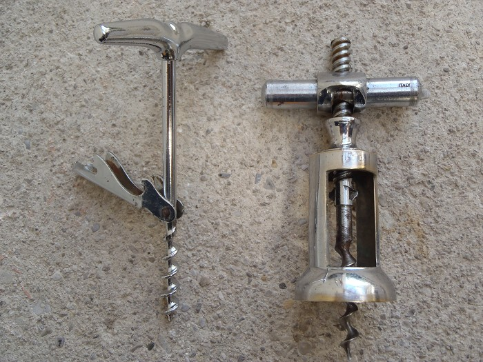 2 old marked Brev / ITALY  - italian corkscrews !!!