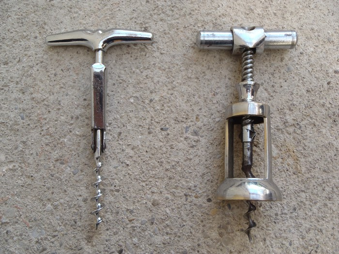 2 old marked Brev / ITALY  - italian corkscrews !!!