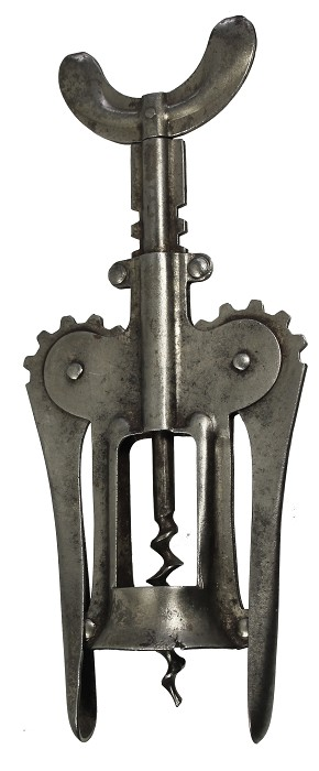 typical Italian double lever made out of stamped tin ca 1930