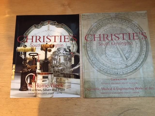 Two Christie's Corkscrew Catalogues