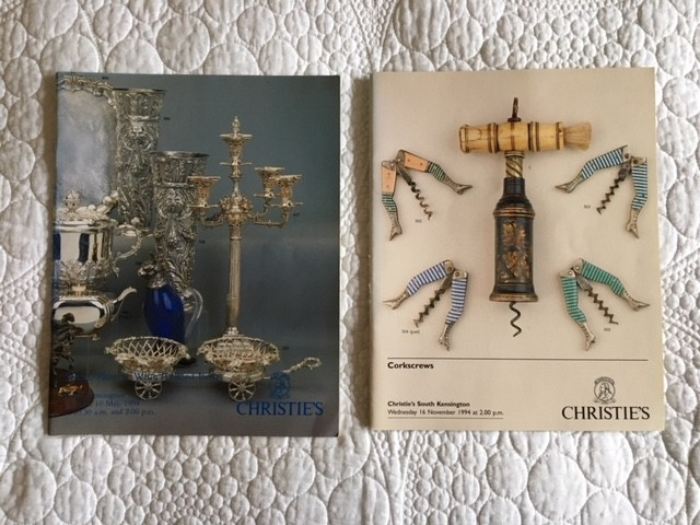 Two Christie's Corkscrew Catalogues - Price Reduced