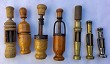 CORKCREW FRENCH BRASS CORKER LITTLE COLLECTION OF 7