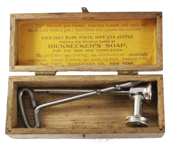 THE LAWRENCE TAP PATENTED in the US in original box