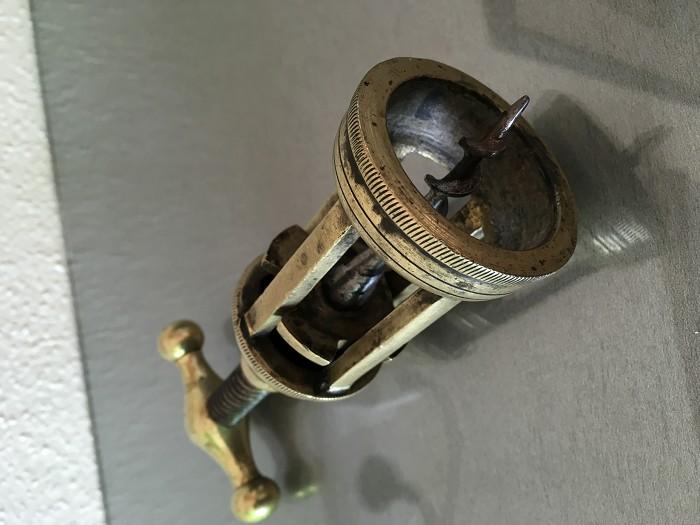 Italian massive brass Corkscrew