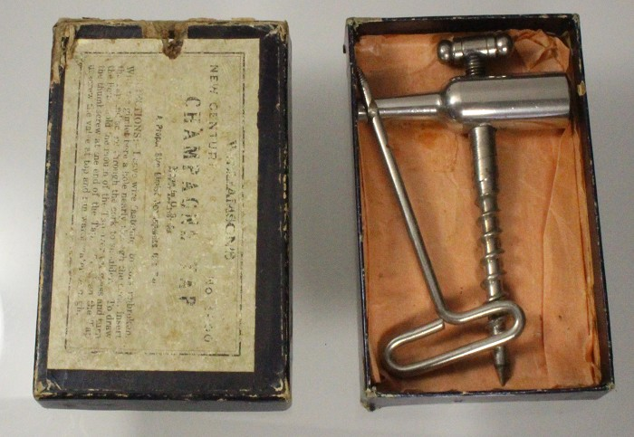 Williamson's New Century Champagne Tap in original box