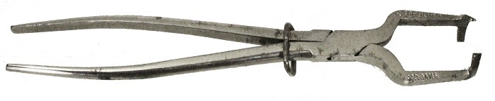 English registered champagne opener marked Rd 690422