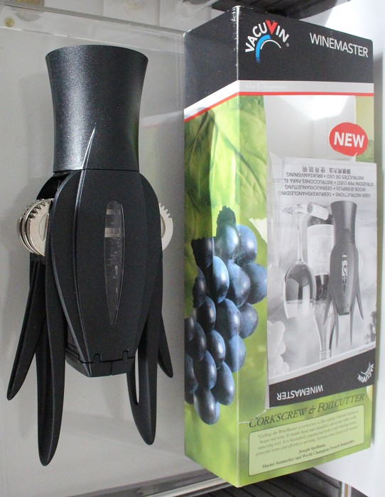 Very ingenious Eurpean patent WINE MASTER from Vacu Vin