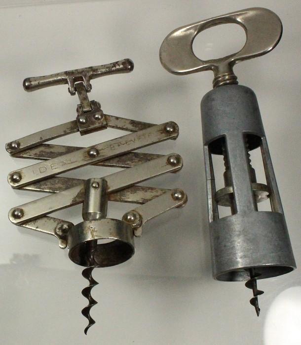 Two corkscrews