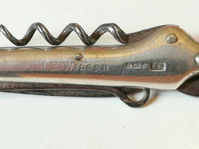 De Sanctis collection: Silver gentleman's Pocket Knife