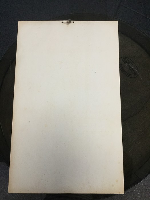 Very rare carton Publicity INDUS Champaign Tap