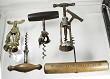 5 corkscrews incl Walker III, German rack & pinion etc