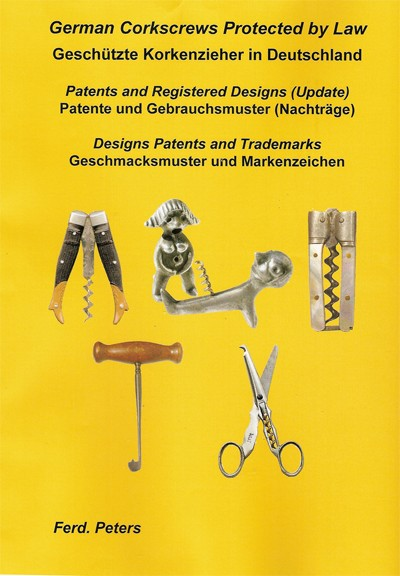 3 books, complete set  German patents and registrations
