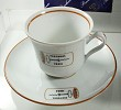 ICCA gift Portugal 1994, cup and saucer and 2 placemats