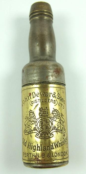 Dewar's Whisky Bottle Roundlet Corkscrew