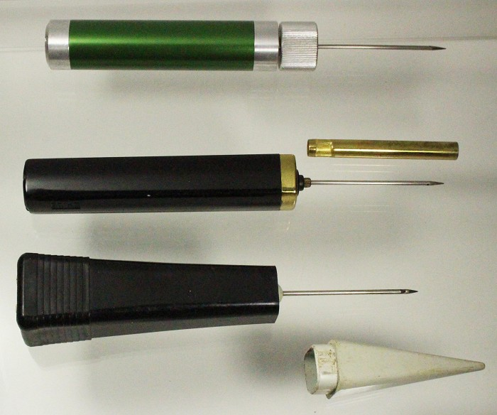 Three air extractors, 2 patents Streicher's EMIDE, Artmer's