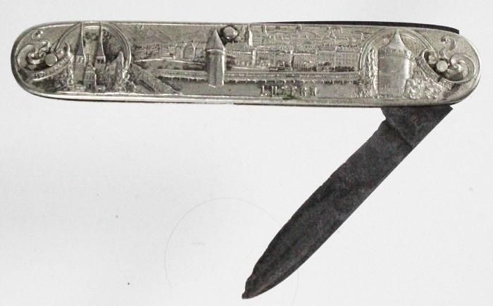 German knife for the Swiss market marked JOSEPH FEIST