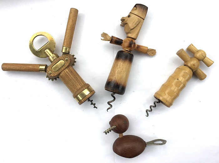 CORKSCREW FRENCH LOT 10 FIGURAL KEY