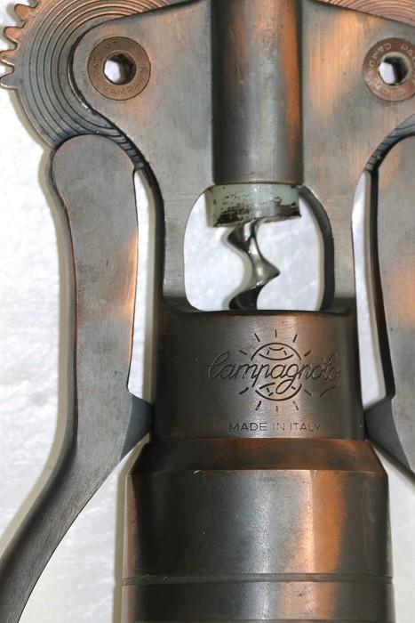 Giant Metal Campagnolo Italian Double Lever Corkscrew
