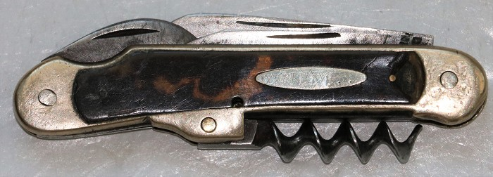 Champagne Knife with Tortoise Shell Scales- Brimstin,Toronto