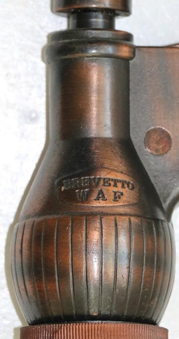 Large Italian Rack & Pinion Corkscrew - Brevetto WAF