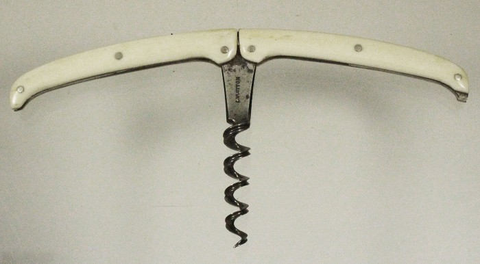 Pocket corkscrew marked LOUIS VUITTON