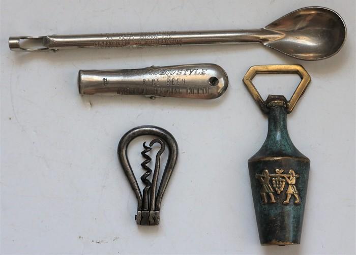 Corkscrew Collection - Four Different Pieces