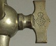 Rare British 1879 registered tap Wolverson & Son